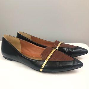 e69e9f7cb Ted Baker London Shoes | Ted Baker Pasces Patent Asymmetrical Flats ...